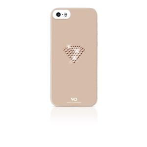 Image of   WHITE-DIAMONDS Cover iPhone5/5s/SE Rainbow Rosegold