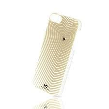 Image of   WHITE-DIAMONDS Cover iPhone5/5s/SE Heartbeat Rosegold
