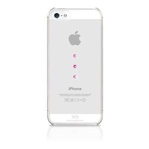 Image of   WHITE-DIAMONDS Cover iPhone 5/5S/SE Ice Trinity Crystal Rosa