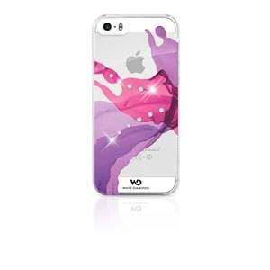 Image of   WHITE-DIAMONDS Cover iPhone5/5s/SE Liquids Rosa