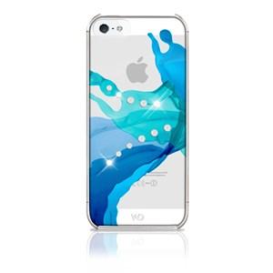 Image of   WHITE-DIAMONDS Cover iPhone5/5s/SE Liquids Blå