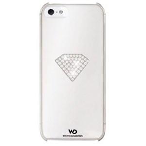 Image of   WHITE-DIAMONDS Cover 5/5s/SE Rainbow Hvid