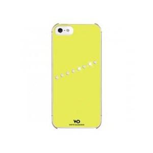 Image of   WHITE-DIAMONDS Cover 5/5s/SE Sash Neon Gul