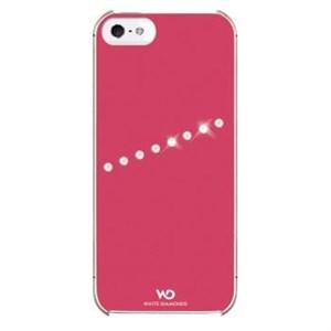 Image of   WHITE-DIAMONDS Cover 5/5s/SE Sash Neon Rosa