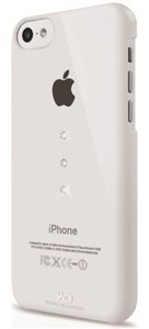Image of   WHITE-DIAMONDS Cover iPhone 5C Trinity Crystal