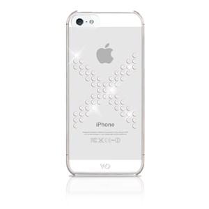Image of   WHITE-DIAMONDS Cover iPhone 5/5s/SE X-serie Transparent/Hvid