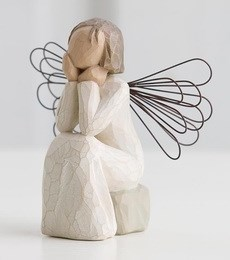 Image of   Angel of Caring H: 9.5 cm