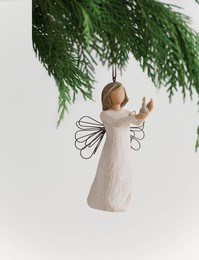 Image of   Angel of Hope Ornament, H11