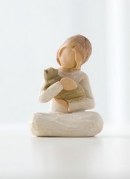Image of   Kindness Girl H: 7.5 cm