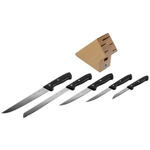 Image of   18.7469.9990 køkkenbestik & knivsæt Kniv/bestik bloksæt 6 stk