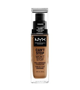 Image of   WORTH THE HYPE MATTE FOUNDATION-CINNAMON