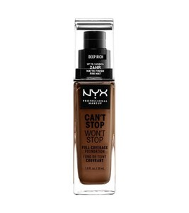 Image of   WORTH THE HYPE MATTE FOUNDATION-DEEP RICH