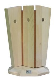 """Image of   KNIVHOLDER """"MERRY-GO-ROUND"""" - Ahorn med mahogni indlæg"""