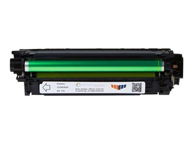 MM Print Supplies Yellow Laser Toner (CE252A)