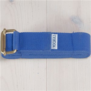 Yogiraj Yoga belt standard length Blue