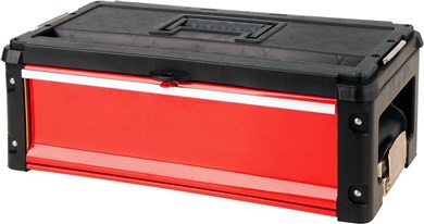 Yato YT-09108 small parts/tool box Metal Black,Red