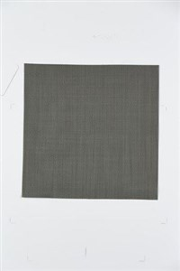 Image of   Dækkeserviet Dark Grey PVC