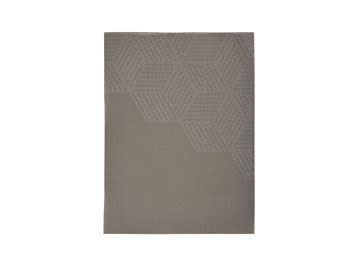 Image of   Dækkeserviet Taupe Brown Hexag