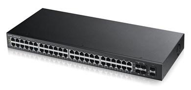 Image of   GS2210-48 Administreret L2 Gigabit Ethernet (10/100/1000) Sort 1U